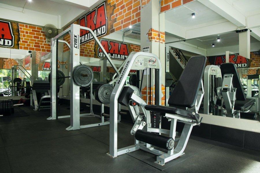 Weightroom Machines