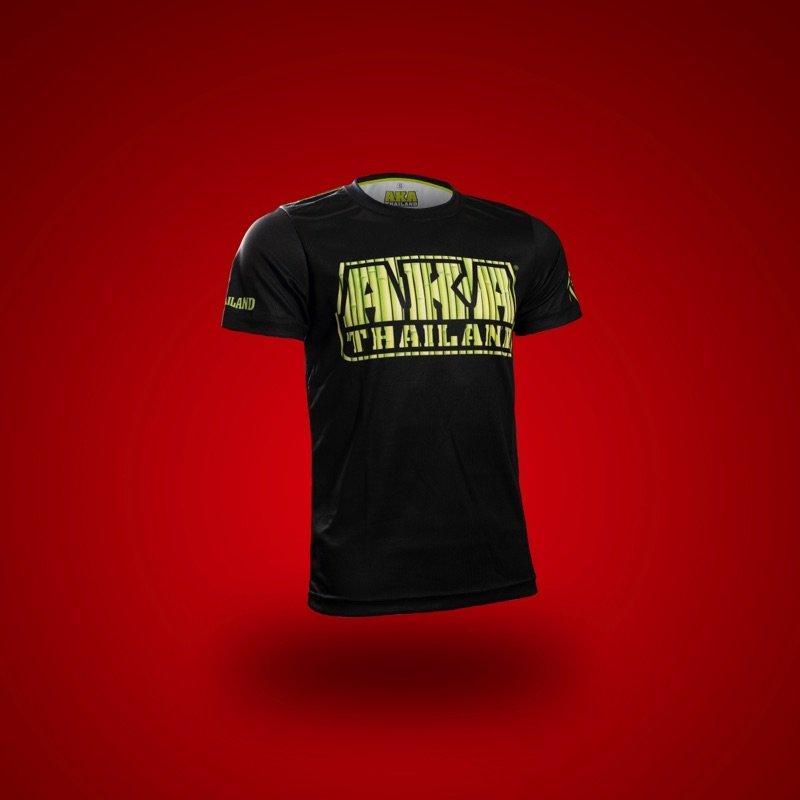 Black/Bamboo AKA T-Shirt front angle